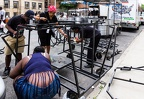 Adlib Steel Orchestra on the night of Brooklyn Panorama, August 30th, 2014
