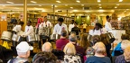 Adlib Steel Orchestra performing in the East Meadow Public Library, April 8, 2017