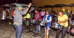 Adlib Steel Orchestra rehearsing for the Brooklyn Panorama, 2017