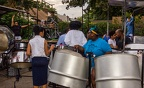 Adlib Steel Orchestra rehearsing on the last evening before Panorama, August 31st, 2018